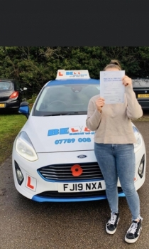 FANTASTIC PASS for instructor Natasha with only SIX faults