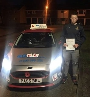 FIRST TIME PASS for instructor Steve with only TWO faults...