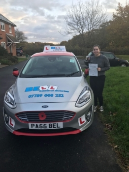 FANTASTIC PASS for instructor STEVE with only THREE faults....