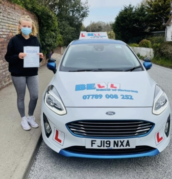 FANTASTIC FIRST TIME PASS for Instructor Natasha