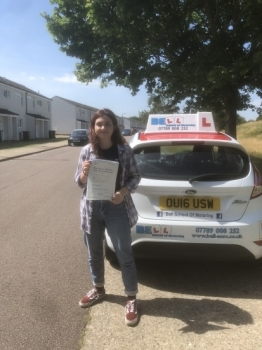 Passed FIRST TIME with MATT with only THREE faults.....