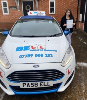 Fantastic FIRST TIME PASS for instructor Michelle with only FOUR faults
