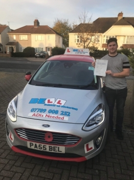 ANOTHER FANTASTIC ZERO fault PASS for instructor STEVE..... his THIRD in a MONTH!!!