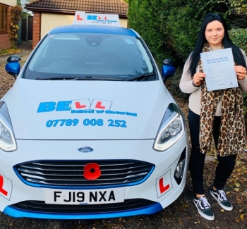 Another PASS for instructor Natasha with only<br />