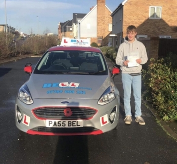 Amazing FIRST TIME pass for instructor Steve with only FOUR faults
