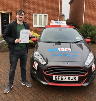 Fantastic FIRST TIME PASS for instructor PETE