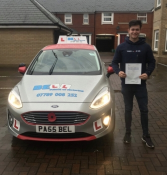 Another FIRST TIME PASS for instructor STEVE with only<br />