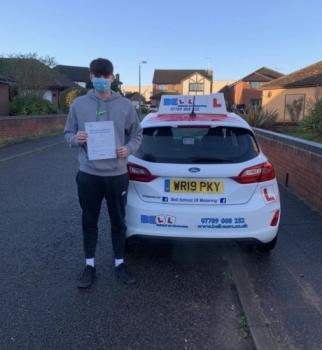 Fantastic pass for Instructor Matt with only ONE fault