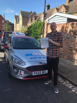 PASSED with STEVE FIRST TIME with only ONE fault.......